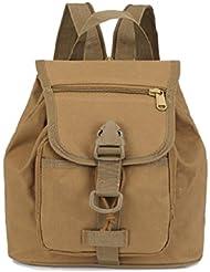 LJ&L Al aire libre 16L multi-funcional camuflaje pequeño mochila, bolsa de hombro bolsa de ejercicio de montaña al aire libre ejercicio, Oxford paño impermeable resistente al desgarro al aire libre mochila,A,16L
