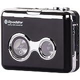 Roadstar PST-100ENC Kassettenspieler mit MP3 Encoding-Funktion schwarz