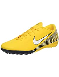 sneakers for cheap e9a23 a4054 Nike VaporX 12 Academy Neymar NJR TF Mens Football Boots AO3121 Soccer  Cleats (UK 6