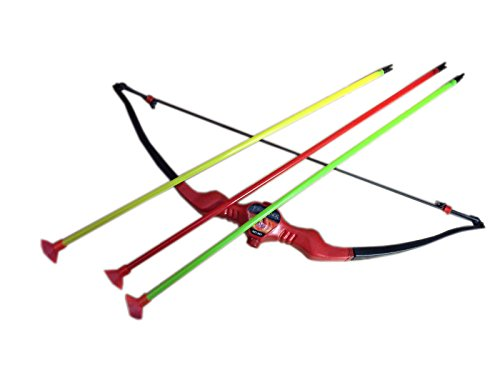 ROTLE SMALL BOW AND ARROW IN PACK OF 1 (MULTI-COLOR)