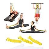 HATCHMATIC Giallo ad alta elastico fitness nastro Forza Anello ecial nastro di formazione Yoga