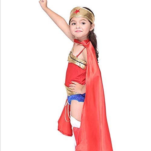 Anime Superman Kostüm - AIYA Halloween Performance Kostüme Kinder Cosplay Kostüme Anime Superman Rollenspiel Anzüge