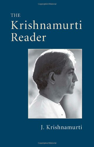The Krishnamurti Reader Paperback
