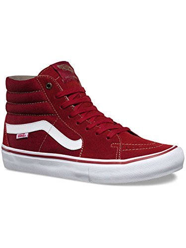 Vans Sk8-Hi Pro Fall Winter 2016 Red Dahlia/White