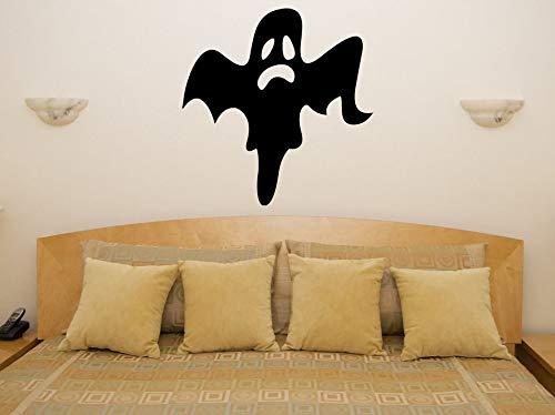 Abnehmbare Vinyl Decals Ghost Halloween Wand StickerHome Decal Festival Schaufenster Glas Decor Party Dekoration 30 * 31 cm
