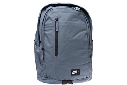 Nike Nk All Access Soleday Zaino, Dark Grey/Nero/Bianco, Taglia Unica