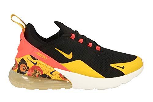 Nike Damen W Air Max 270 Se Leichtathletikschuhe, Mehrfarbig (Black/University Gold/Bright Crimson 5), 37.5 EU - Womens Nike Sneakers