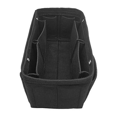 LEXSION Damen Filz-Geldbeutel-organisator, Multi Pocket Bag in Bag Organizer für Tote & Handbag Shaper groß Vine red (Louis Vuitton Ski)