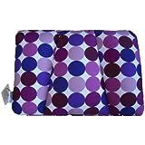 Invitalis Kuschel-Maxx 5514 - Almohada ortopédica, diseño de círculos, color violeta