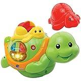 Vtech Baby 80–186704–Plaisir de bain tortue famille