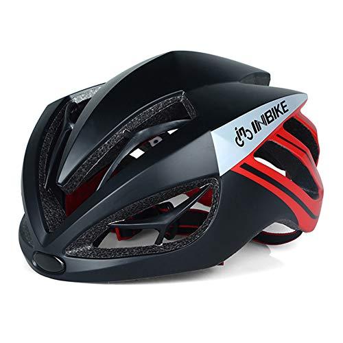 Helm Radfahren Fahrradhelm Magnetische Brille Mountain Road Bike Sonnenbrille Radfahren GläSer 3 Objektiv Bike (56-62cm Kopfumfang),A