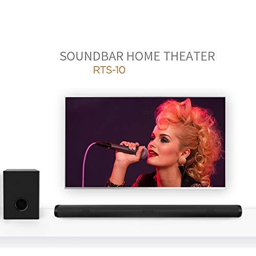 Ledu Bluetooth-Lautsprecher, Echo-Wund-Subwoofer Heimkino Bluetooth-USB-Lautsprecher, geeignet für Samsung, iPad, TV, Notebook und andere Bluetooth-Geräte