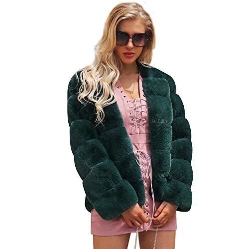 95792de9 POLP Abrigos mujer Abrigos de Invierno para Mujer Invierno Abrigo Casual  Chaqueta de Lana Capa Jacket Abrigo Corto Fleece Warmer Abajo Chaqueta ...