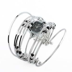 ESS - Damenuhr - silbern - Armbanduhr - Quarz Uhr - LD032