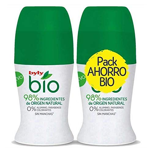 Byly Bio Natural 0% Deo Roll-On Lote 2 Pz - 5 ml