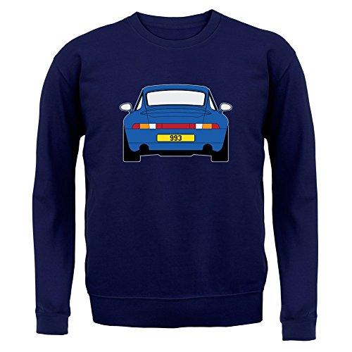 Porsche 993 Blau - Unisex Pullover/Sweatshirt - 8 Farben Navy