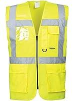 Portwest S476YERXXL XXL Hi-Vis Executive Vest - Yellow