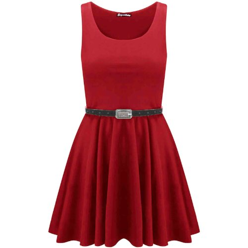 - 415 9qGwGyL - Swagg Fashions Women's Skater Dress