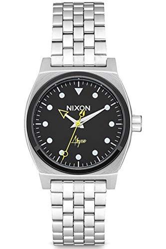 Nixon time teller orologio Donna Analogico Al quarzo con cinturino in Acciaio INOX A11302971