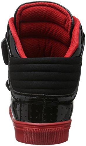 Tamboga 333, Sneakers basses mixte adulte Schwarz (Black/Red 31)