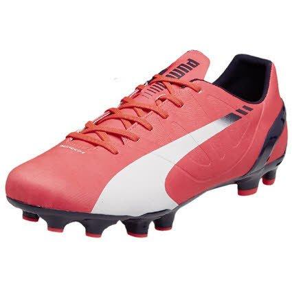 PUMA Herren Fußballschuhe rosa 45 (Schuhe Für Herren Puma 2014)