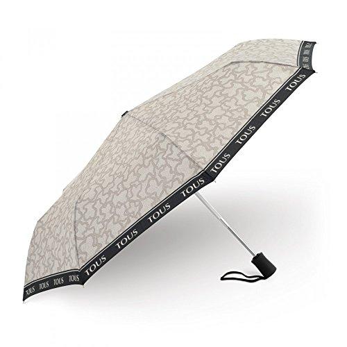 Paraguas plegable Kaos New en color piedra TOUS