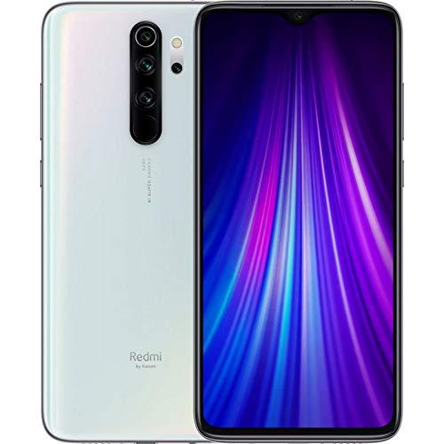 "Xiaomi Redmi Note 8 Pro Smartphone,6GB RAM 64GB ROM Mobilephone,Pantalla Completa de 6.53 "",MTK Helio G90T Octa Core,Carga Rápida de 4500 mAh,Quad Cámara(64MP + 8MP + 2MP + 2MP)Versión Global (Blanco)"