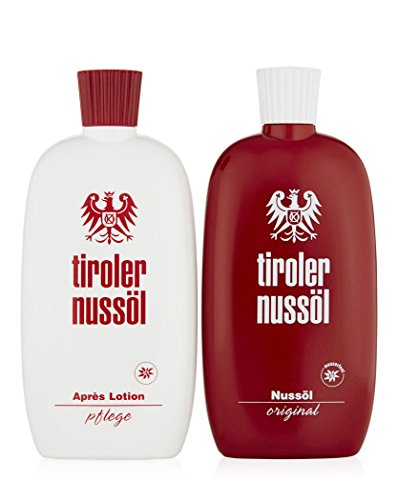 Tiroler Nussöl Original SET Sonnenöl 150ml + Après Sun Lotion 150ml