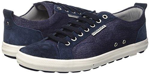 Wolf, Sneaker a Collo Basso Uomo, Blu (Navy Blue), 41 EU Lumberjack