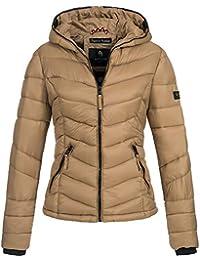 78bf14bf70785 Marikoo Damen Jacke Steppjacke Übergangsjacke Winter gesteppt Kuala XS-XXL  16-Farben