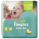 Pampers Baby Dry Size 6 (15+kg) Extra Large x 31 per pack