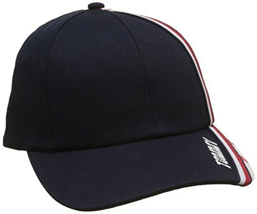 Tommy Hilfiger Baby-Unisex Stars and Stripe Cap Kappe, Schwarz (Corporate 901), L