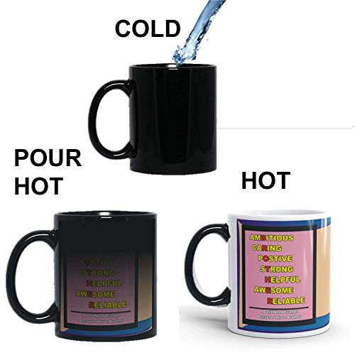 Family Shoping Birthday Gifts for Brother, New Year Gifts Colourfull Bro Qutoes Coffee Magic Mug -320ml Brother Coffee Magic Mugs