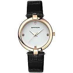 Fashion ladies quartz watch/ strap waterproof watch/Simple casual watches-G