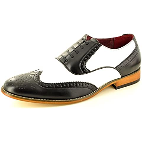 My Perfect Pair - Zapato para hombre de color negro de talla uk tamaño 10 /eu tamaño 44