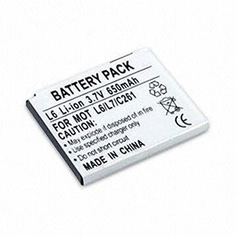 BATTERY FOR MOTOROLA BC50 SLVR L2, L6, L7, RAZR V3x
