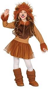Guirca- Disfraz leona, Talla 7-9 años (83254.0)
