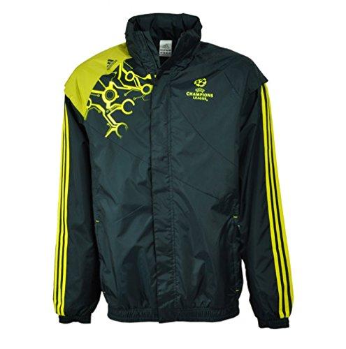 Adidas Predator Champions League Trainings Jacke M Allwetterjacke, navyblau