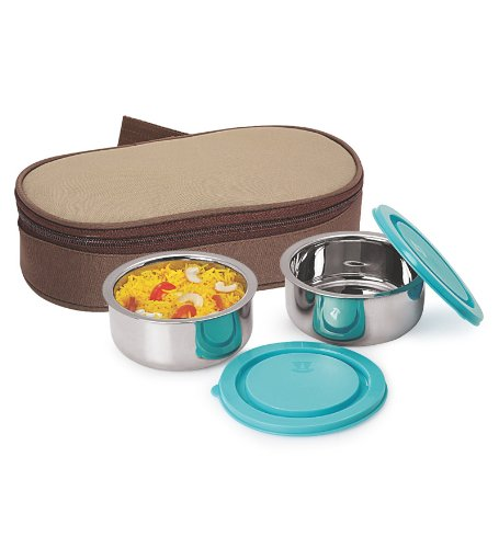 NanoNine Insulated 2pc Junior Lunch Box SS072