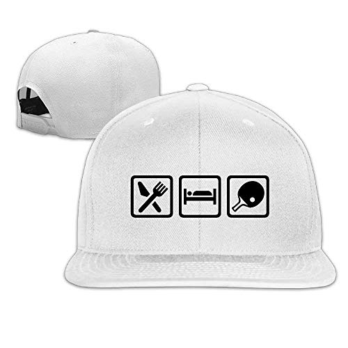 cb1ad39df95 HHMdiy Unisex Baseball Cap Eat Sleep Ping Pong Picture