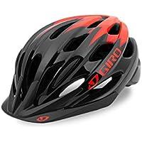 Giro Raze Fahrradhelm - black vermillion