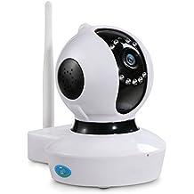 NexGadget Telecamera di Sorveglianza WiFi HD Infrarossi Sorveglianza di movimento Visione Notturna - Cane Pan