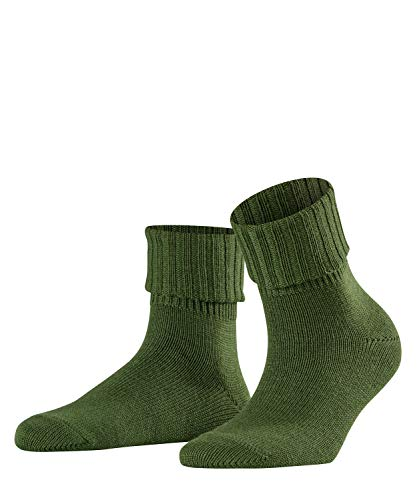 FALKE Damen Rib W SO Socken, Grün (Woods 7647), 39-42