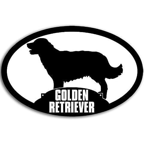 Ovale Golden Retriever