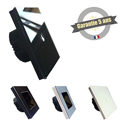 interrupteur-tactile-1-bouton-lumtouch-modele-en-verre-noir-design-moderne-epure-et-elegant-garantie