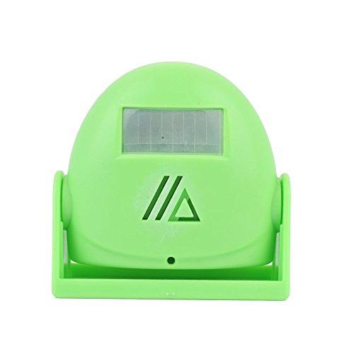Hanbaili Smart Wireless Türklingel, (Grün) Infrarot-Yingbin automatische Body-Sensing Türklingel Alarm