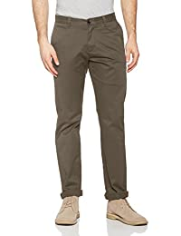 Dockers Herren Hose Clean Khaki Marina Slim Tapered-Stretch Twill
