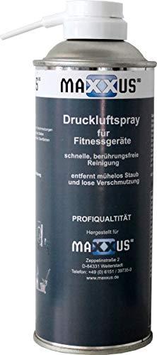 Maxxus Druckluftspray Druckluftreiniger Ideal Zur Reinigung, Pflege Und Wartung Von Fitnessgeräten - Für Laufband, Crosstrainer, Ergometer etc