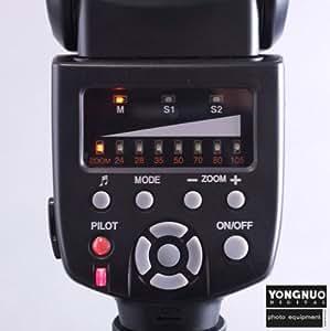 GN58 YN-560 Flash Speedlite for DSLR with standard hot shoe Canon 500D 550D 1000D 50D 60D 5DII Nikon D300, D300s, D700, D90, D3, Olympus