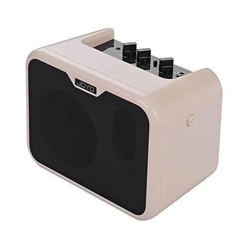 Festnight E Bass Verstärker, 10 Watt Mini Portable Amp Lautsprecher Dual Channels mit Netzteil